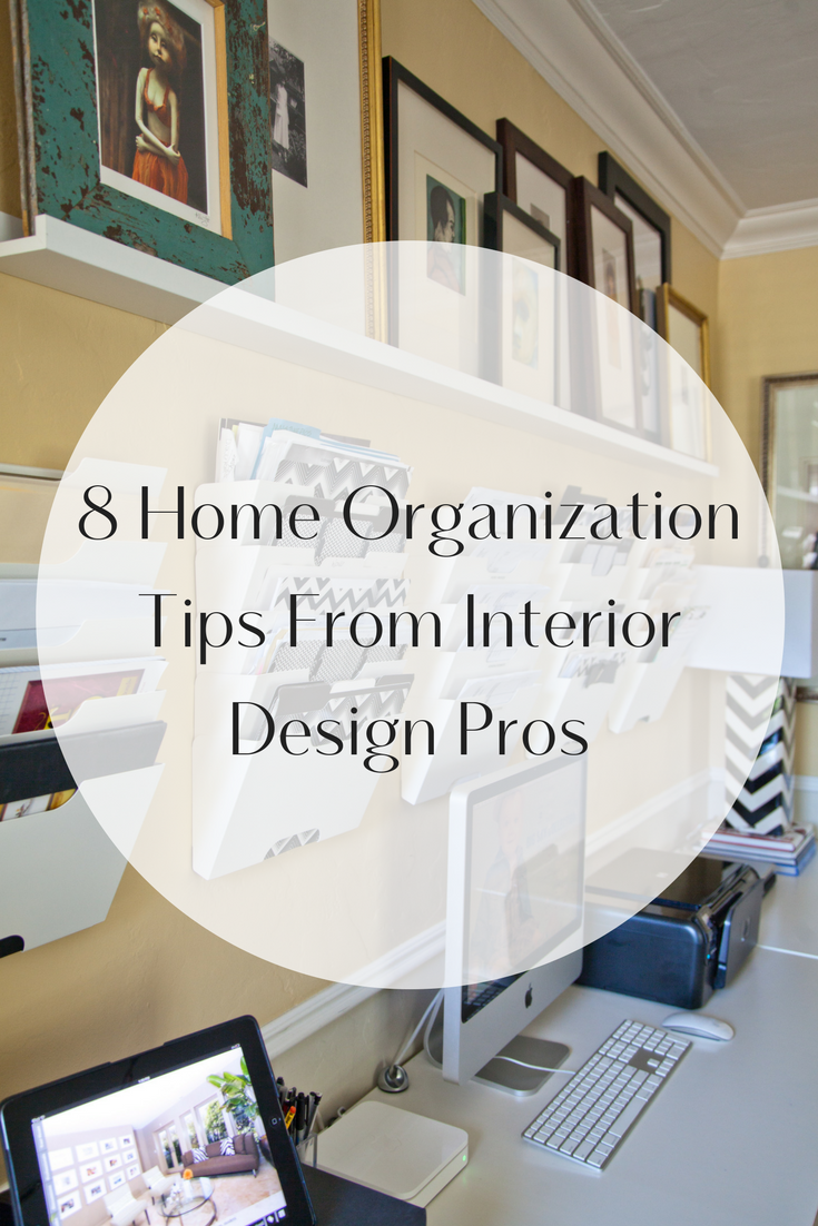 8 Home Organization Tips From Interior Design Pros - Peltier Interiors