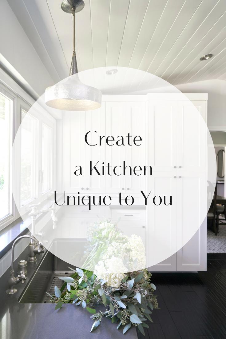 Create A Kitchen Unique To You Peltier Interiors