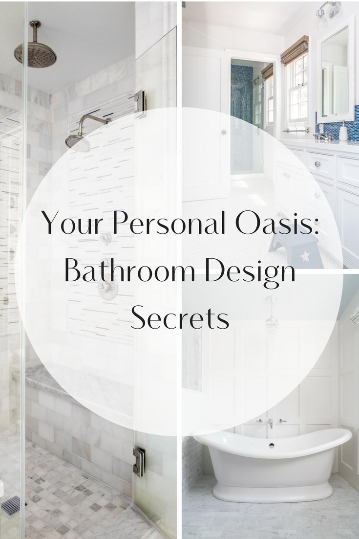 simple bathroom designs Archives - Peltier Interiors