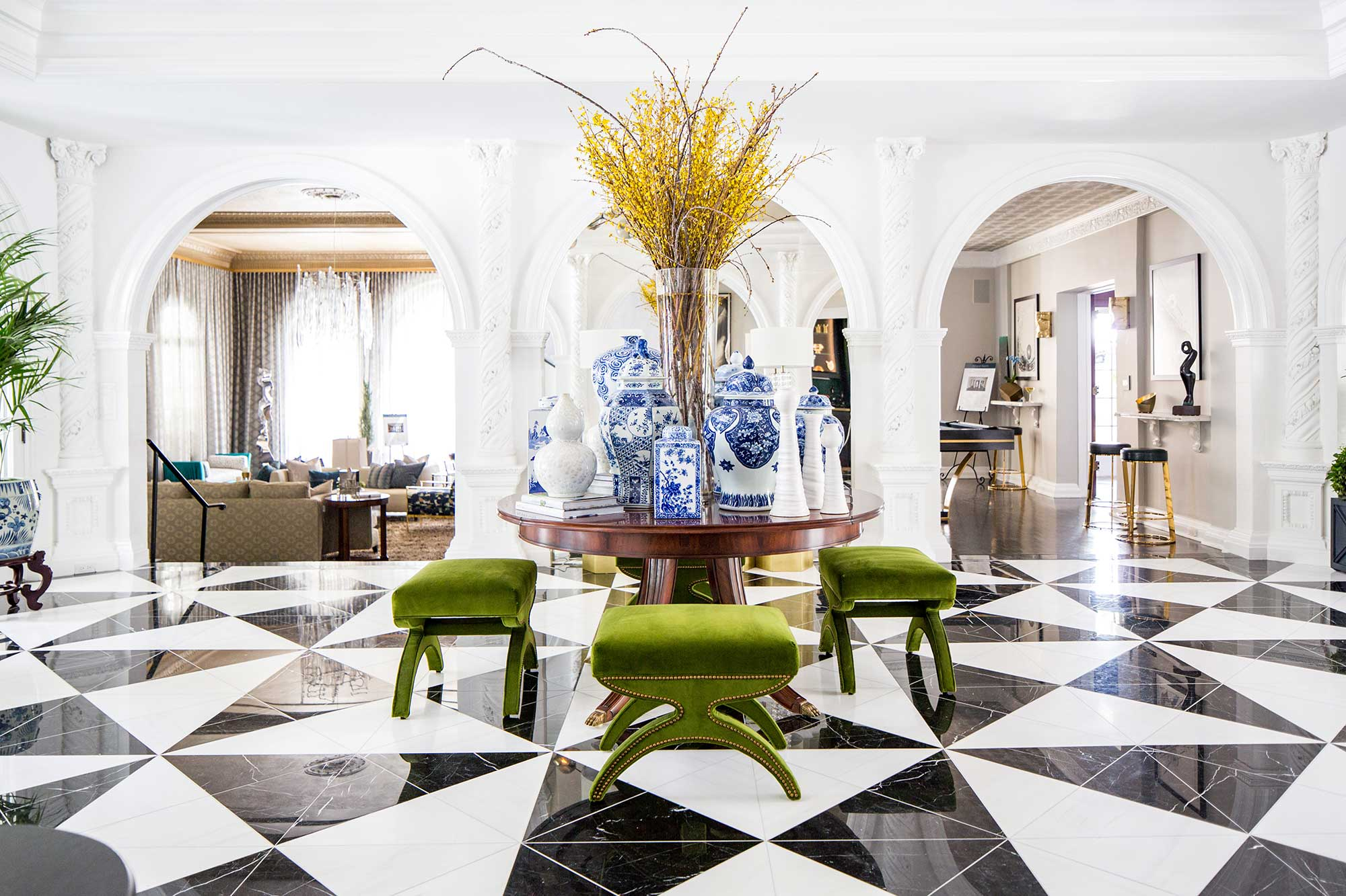 2018 Pasadena Showcase House Of Design Grand Foyer